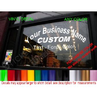 StickerLoaf com - Storefront Door and Window Signs